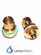 "heating element rod gland 1/4"" bsp compression 8mm 0d catering parts spares"