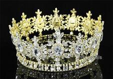 Männer Hochzeit Partei kaiserlich Kristall Kreis Gold König Krone T1791