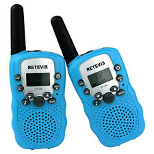 2xRetevis RT-388 Walkie Talkie UHF 0.5W CTCSS VOX 2-Way Radio For Kids US Seller