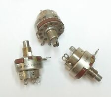 250 Ohm 1 Watt - Potentiometer - Audio Taper - N/O and N/C Switch / RV-4DTSA251C