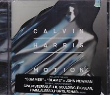 Calvin Harris motion CD New Sealed