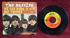 "Beatles We Can Work It Out ~ Day Tripper 7"" 45 RPM Capitol Records 5555 Fab Four"