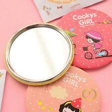 Lady Girl Gift Cute Small Cosmetic Makeup Portable Korean Pocket Round Mirror