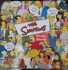 The Simpsons Trivia Game Tin Poster