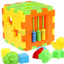 Colorful Baby Shape Sorting block Magic Cube Educational Toys Great Kids Gifts