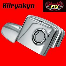 Kuryakyn Chrome Rear Master Cylinder Covers for Touring 7769