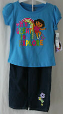 Nickelodeon, 4T, Dora 2-Piece Outfit, New with Tags