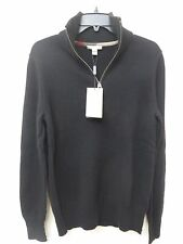 New Burberry Brit 100% Cashmere Black Sweater Size S MSRP$495.00