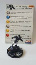 War Machine HeroClix FCBD Free Comic Book Day Marvel Iron Man Figure LE #200