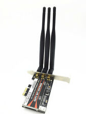 Desktop 450M Network PCI-E 1X 16X Dual Band WIFI Card Adapter For PC Computer
