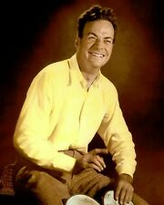 "RICHARD FEYNMAN THEORETICAL PHYSICIST 8x10"" HAND COLOR TINTED PHOTOGRAPH"