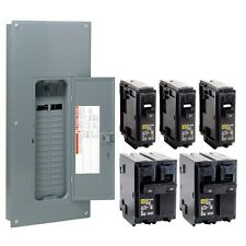 Square D 200 Amp 30/60-Circuit Main Breaker Load Center-Homeline Panel w Breaker