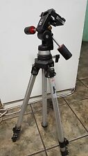 Bogen Professional Tripod 3021 with 3047 Fluid Head - Made In Italy Camera Video
