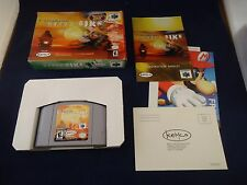Top Gear Hyper-Bike  (Nintendo 64, 2000) N64 COMPLETE w/ Box manual game WORKS!