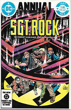 Sgt. Rock Comic Book Annual #3, DC Comics 1983 NEAR MINT
