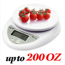 5Kg x 1g Digital Kitchen Scale Diet Food Compact Kitchen Scale 10lb x 0.04oz