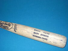 MARK JOHNSON Game Used Bat PITTSBURGH PIRATES HANSHIN TIGERS ANGELS METS