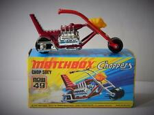 VINTAGE MATCHBOX LESNEY SUPERFAST CHOPPERS No.49 CHOP SUEY MINT IN BOX 1972