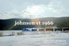 St J & LCRR Snowplow 70 Tonners Johnson Vt  28 Dec 1966