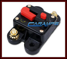 12V 200 AMP CAR STEREO INLINE POWER CIRCUIT BREAKER REPLACES FUSE HOLDER 200A