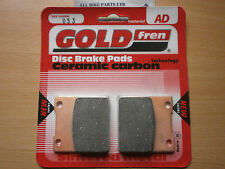 SINTERED REAR BRAKE PADS For: KAWASAKI ZXR 750 (J1 J2) 1991-1992 ' ZXR750