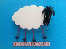 MARIE CHRISTINE PAVONE SHEEP  BROOCH.  Free post worldwide.