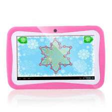"8GB 7"" Quad-Core Google Android 4.4 Tablet PC HD Children Kids Wifi Cameras L2"