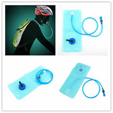 2L Bicycle Bike Cycling Mouth Water Bladder Bag Hydration Camping Sports Blue YK