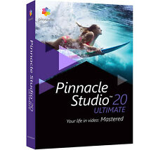 NEU !! Pinnacle Studio 20 Ultimate DVD Version Special Upgrade inkl. ChromaKey