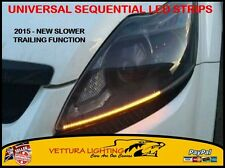 NEW Sequential LED Strips Dynamic Sweeping Indicators Turn Signals + DRL Audi