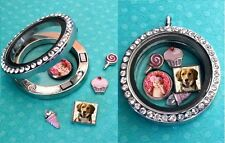 Personalized floating photo charm for your living locket origami owl pendant 8mm