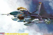 "F-16 D-30 FIGHTING FALCON ""SPANGDAHLEM"" (USAFE SHARKMOUTH MKGS) 1/72 MISTERCRAFT"