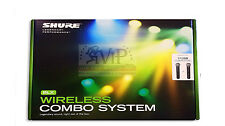 Shure BLX288/PG58 Pro mint Dual Handheld Wireless Microphone Mic System