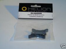 HLNA0006 Helion R/C Car Spare Parts Front & Rear Shock Towers Animus 4 x 4 New