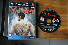 Jeu YAKUZA sur Playstation 2 PS2 CD REMIS A NEUF (sans notice)