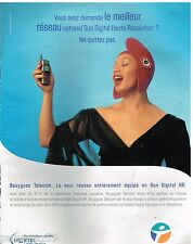 Publicité Advertising 2000 Bouygues Telecom