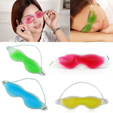 Useful Gel Eye Mask Cold Pack Warm Hot Ice Cool Soothing Tired Eyes&Headache Pad