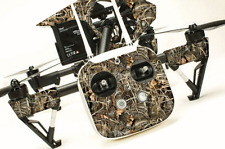 DJI Inspire 1 graphic skins w/6 Batteries Transmitter Decals | Realtree Max 4