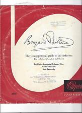 Hans Swarowsky Vienna: Benjamin Britten-una leadership musicali attraverso il ORCH