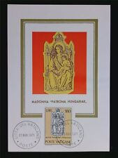 VATICAN MK 1971 MADONNA & JESUS CHRISTUS MAXIMUMKARTE MAXIMUM CARD MC CM c6283