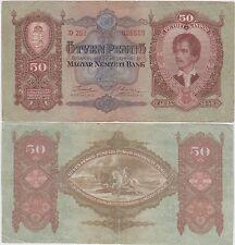 Ungheria / Hungary, 50 pengo 1932