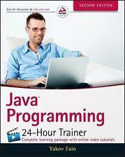 Java Programming 24-Hour Trainer, Fain, Yakov