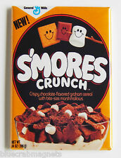 Smores Crunch FRIDGE MAGNET (2 x 3 inches) cereal box chocolate marshmallow