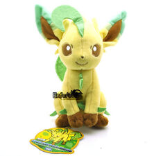 "7.5"" New Pokemon LEAFEON Plush Soft Toy Doll^PC2075"