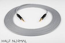 "20' Canare L-4E6S Quad Balanced Cable Neutrik Gold 1/4"" TRS to 1/4"" TRS Gray"
