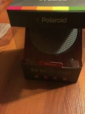 Polaroid Mini Wireless Speaker Bluetooth Rechargeable Battery Compact PBT511