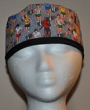 Men's Marathon Runners/Running Scrub Cap/Hat - One Size Fits Most