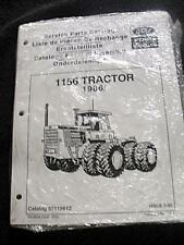 ORIG NEW HOLLAND FORD VERSATILE 1156 TRACTOR PARTS CATALOG MANUAL SEALED MINTY