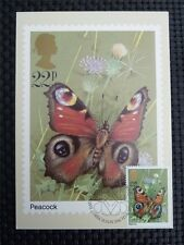 GB UK MK BUTTERFLY SCHMETTERLINGE MAXIMUMKARTE CARTE MAXIMUM CARD MC CM c1181