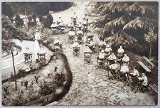 RARA viaggiata 1934 BOLOGNA COLONIA MUNICIPALE DI CASAGLIA Lezione all'aperto